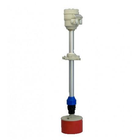 Medidor de nível ultrassonico para pós e grãos