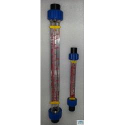 Rotâmetro Medidor de vazão tipo área variável cone em plastico