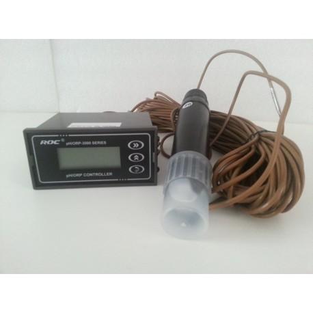 Controlador, medidor e analisador de pH.